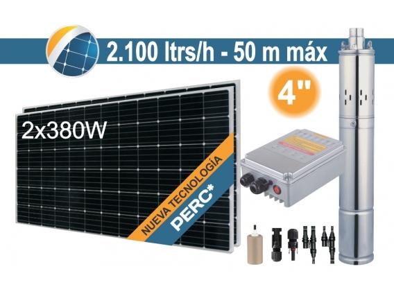 Bomba Sumergible Solar Tornillo Seif Energy 4SPS2.1-50-D24-270 - 2x380W