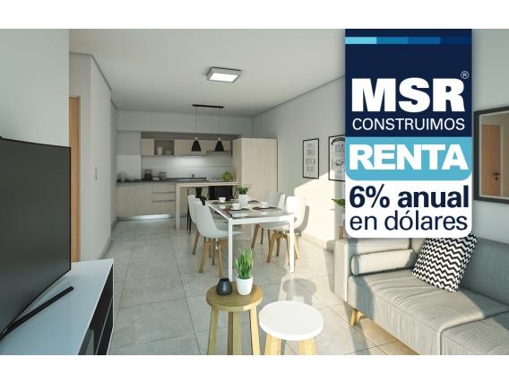 Departamento 2 dormitorios - San Martín 1682 12-A