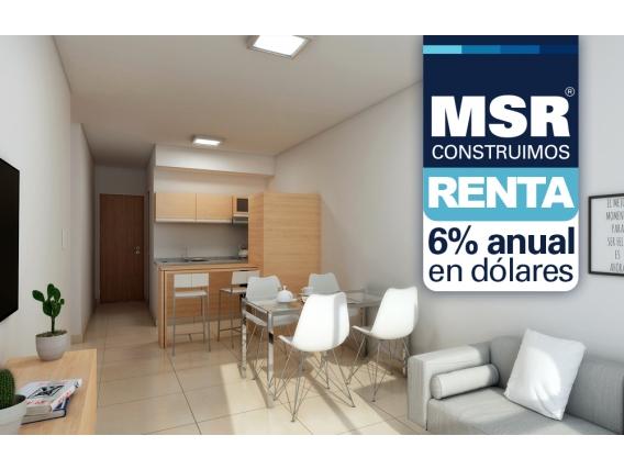 Departamento 1 dormitorio -San Lorenzo 1660 07-F