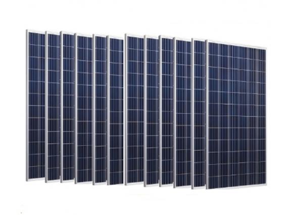 10 Paneles Solares De 120W . Pack 10 . Dolar Oficial