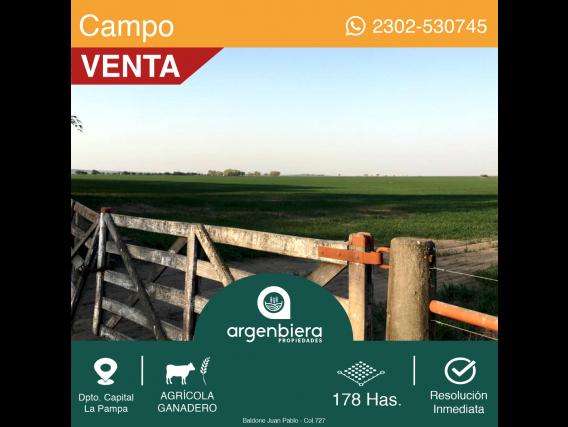 178 Has. Winifreda La Pampa