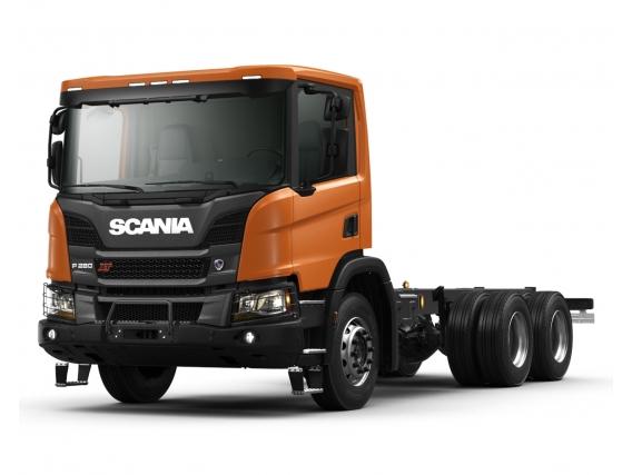 Camión Scania P 280 B6x4- Volcadores y carga pesada  - Urbano