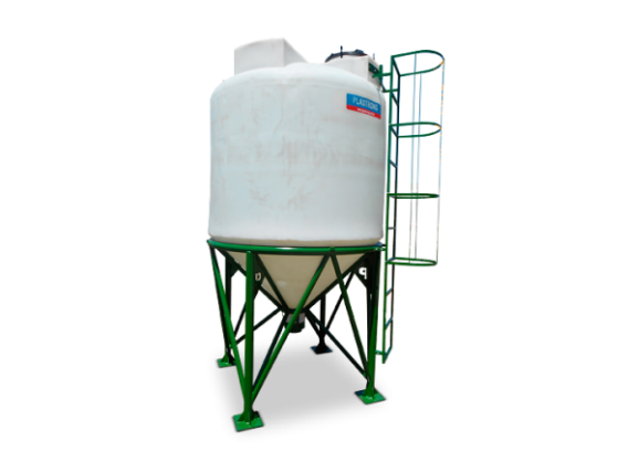 Silo Aéreo Plastrong 4500 Lts