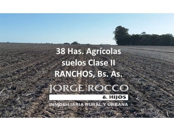 38 Has Agrícolas En Ranchos Suelos Clase Ii