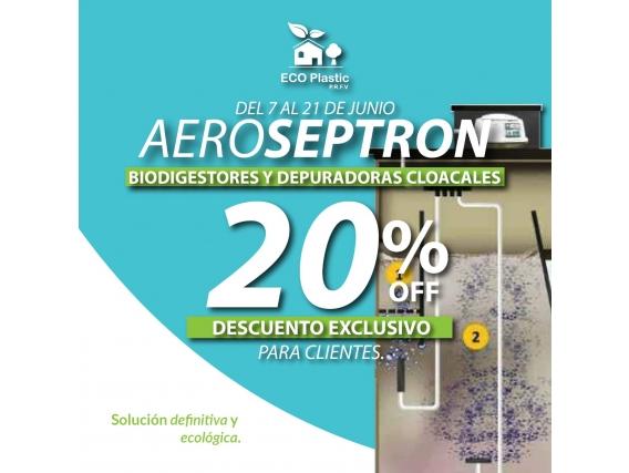 Depuradora Cloacal Eco Plastic Aero Septron