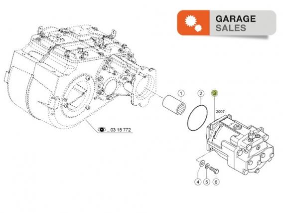 Motor Hidráulico  CLAAS