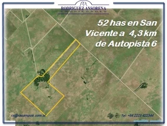 52 Has En San Vicente A 4300 M De Autopista