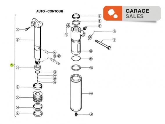 Cilindro hidráulico CLAAS