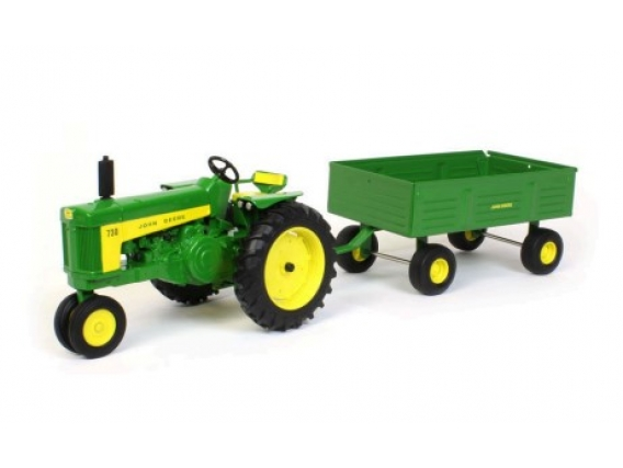 730 Tractor With Barge Wagon