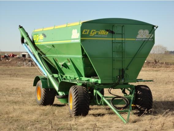 Acoplado Tolva El Grillo para semillas y fertilizantes ATF07