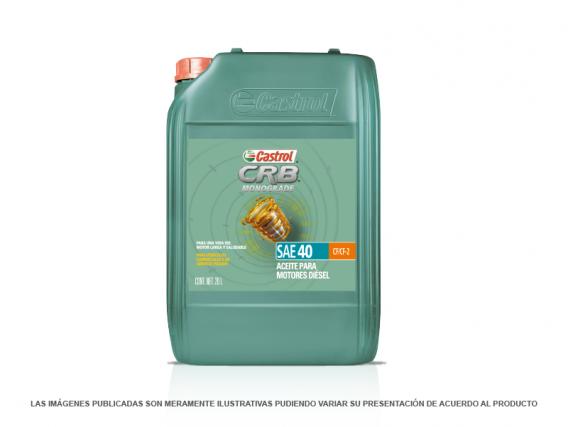 Aceite para Motor CASTROL CRB MONOGRADO 40