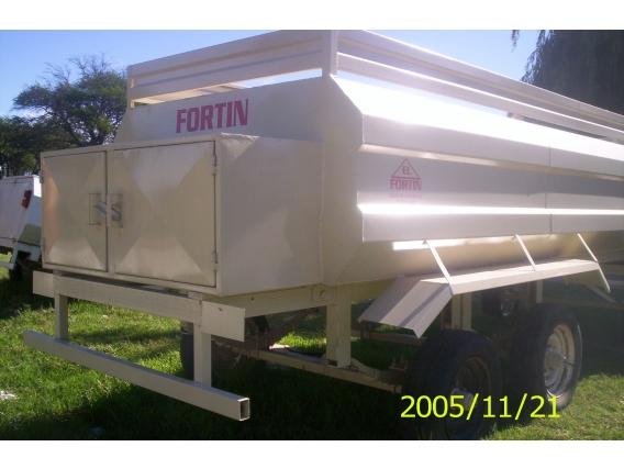 Acoplado Tanque Cisterna Metalurgica El Fortin