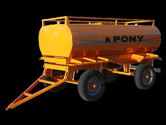 Acoplado Tanque Combustible Pony 3000 Lts.