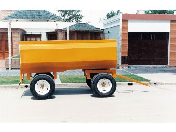 Acoplado Tanque De Combustible Metalúrgica Oberti 3000 Lts