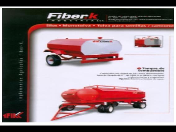 Acoplado Tanque Fiber K Industrial