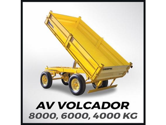 Acoplado Volcador Grosspal AV 6000