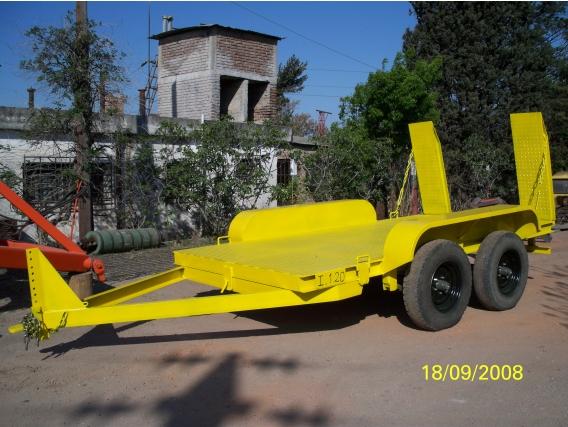 Acoplado Para Transporte De Maquinaria Marchetti C/2 E