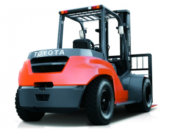 Autoelevador Toyota 8FD35N