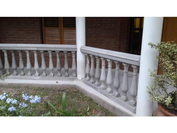 Balustrada Por Metro 0,69 M Con 5 Balustres