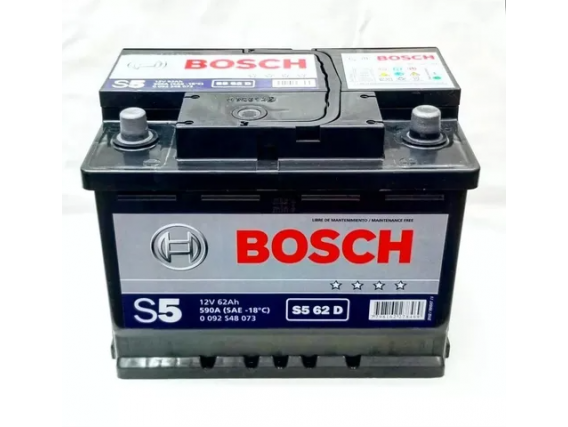 Batería BOSCH 62AH - 590CCA