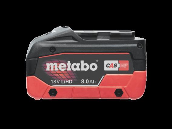 Batería Metabo LIHD 8.0 AH