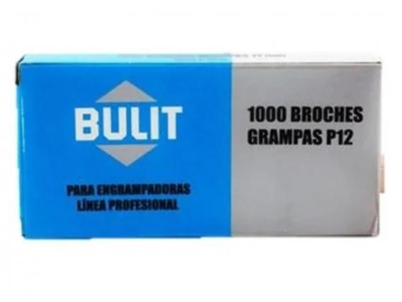 Broches - Grampas P12 Bulit Por 10 Cajas De 1000 Unidades