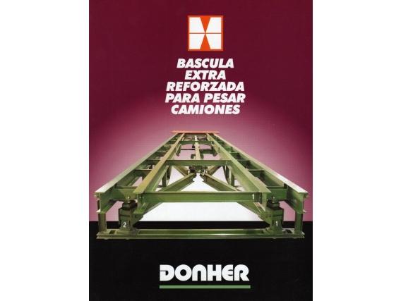 Báscula para pesar camiones Donher CD-80-20