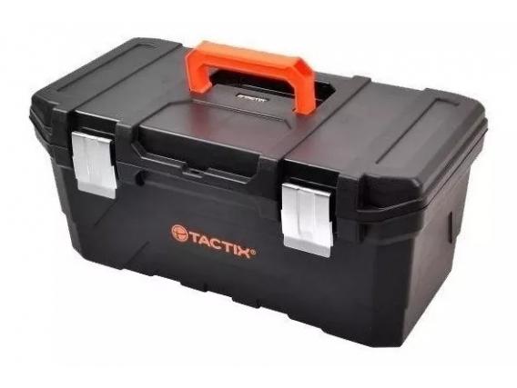 """Caja Herramientas Tactix 320343 23"""" Broche Metalico"""