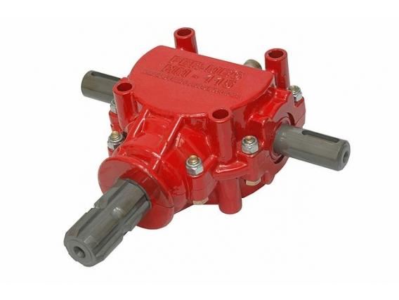 Caja angular de transmision cardanica para desmalezadoras Fermec HM 115 salida doble