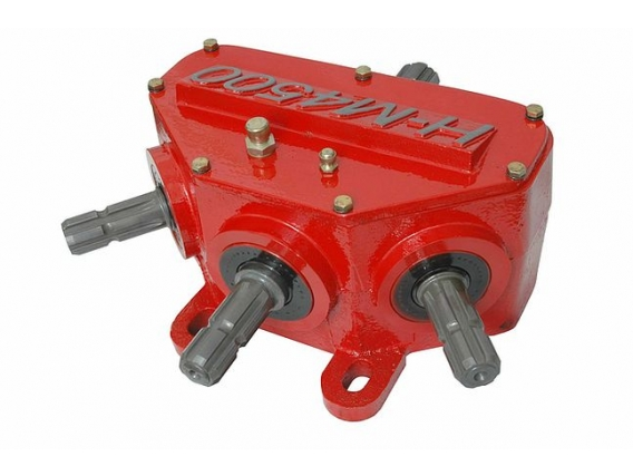 Caja angular de transmision cardanica para desmalezadoras Fermec HM 4500