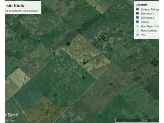 Campo de 371 Hectáreas en Arata- La Pampa