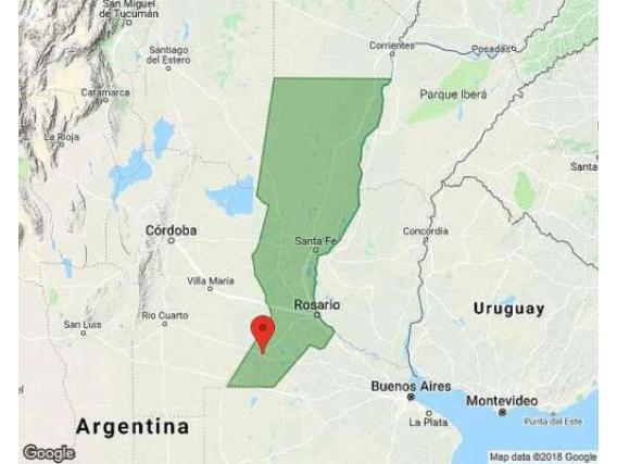Campo de 6911 Hectáreas en Venado Tuerto- Santa Fe