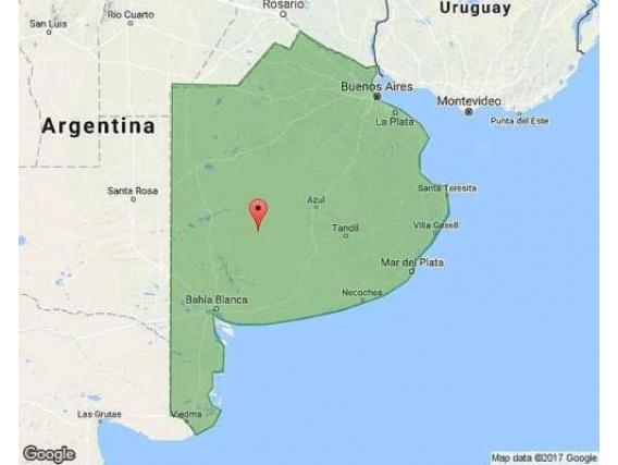 Campo de 845 Hectáreas en Lamadrid- Buenos Aires