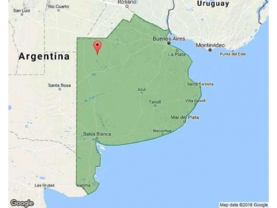Campo de 951 Hectárea en Pasteur- Buenos Aires