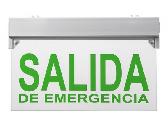 Cartel de Emergencia Led Etheos 220 V