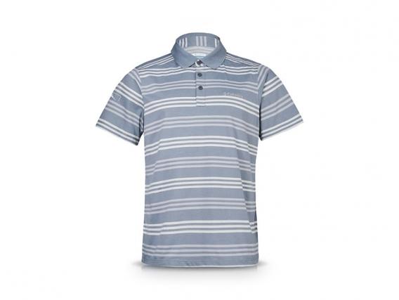 Chomba Polo DEKALB Columbia Sweat Threat™ Gray Ash Stripe