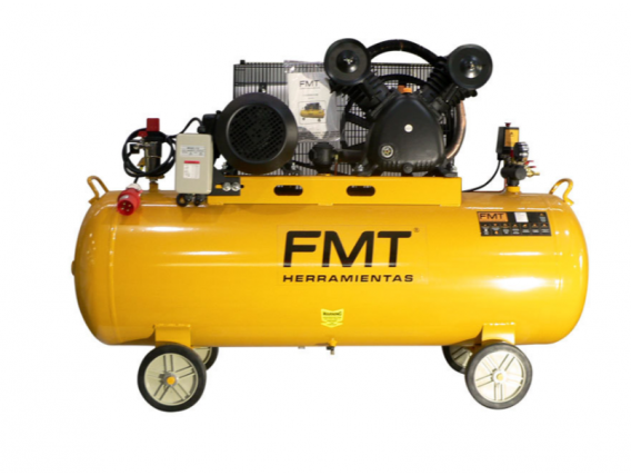 Compresor FMT 5HP 250L a Correa 380V Baja Baja 572 l/m
