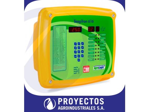 Controlador Climático Agrologic TempTron 616 - Cerdos