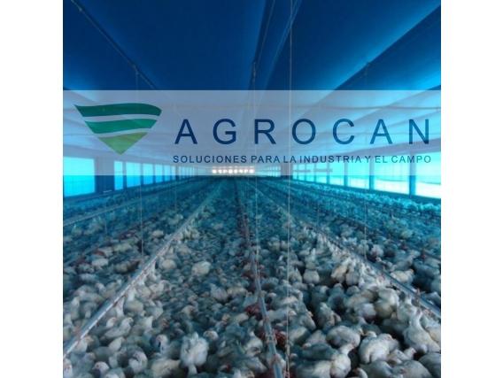Cortina Avícola Agrocan- De Rafia para galpones de Pollo