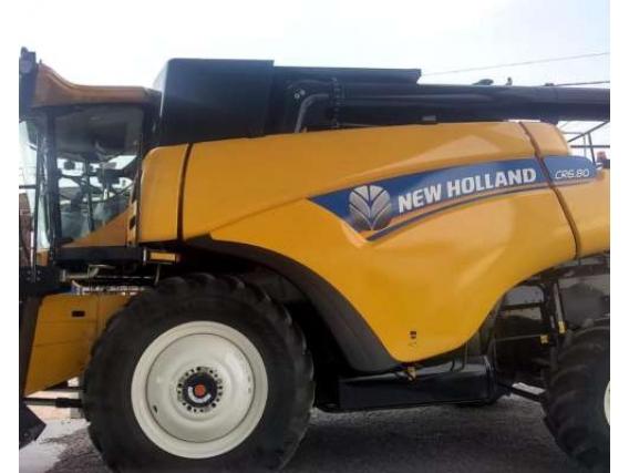 Cosechadora New Holland CR 6.0 Dual 4WD