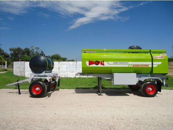 Acoplado Tanque Combinado Metalpaz De 5000 Lts.