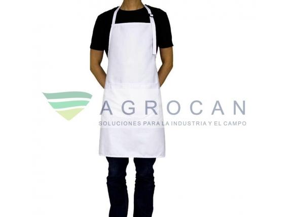 Delantal Agrocan de Pvc Blanco Frigorifico