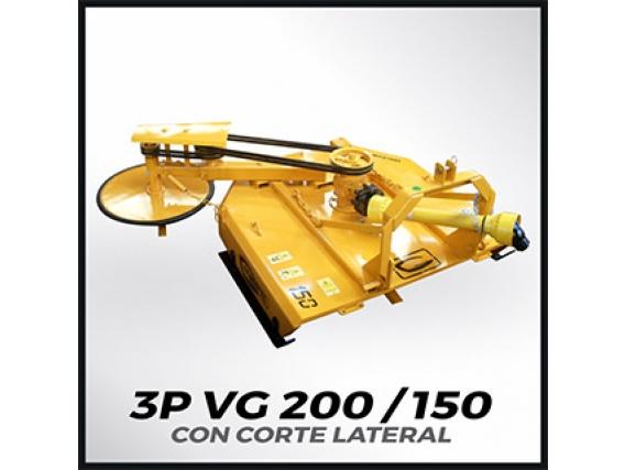 Desmalezadora Grosspal 3P Vg 150 Con Corte Lateral