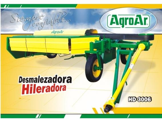 Desmalezadora Hileradora Agroar HD3006