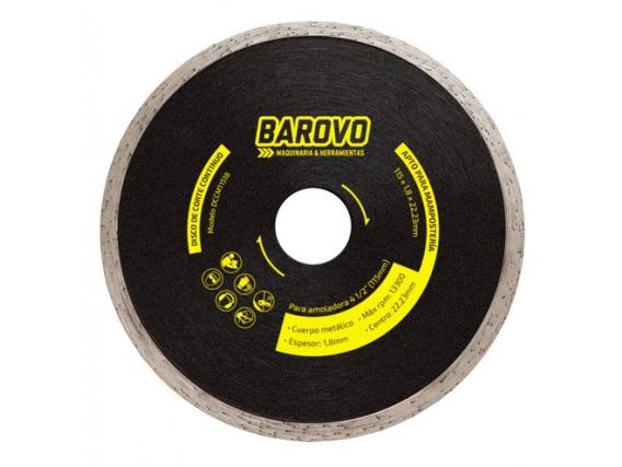 Disco Diamantado Barovo 115 Continuo