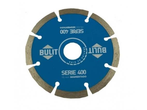 Disco Diamantado Bulit Para Amoladora Serie 400 Turbo 115mm