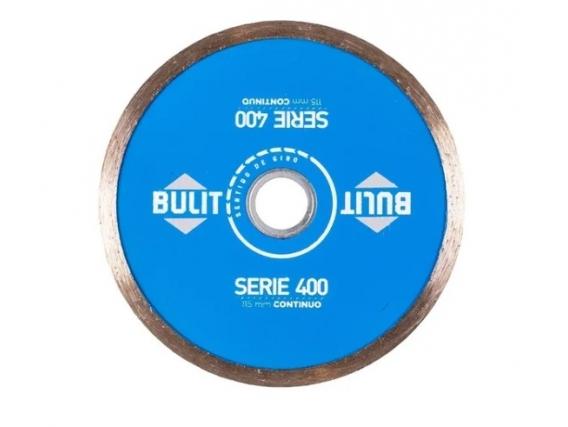 Disco Diamantado Bulit Serie 400 Continuo 115mm