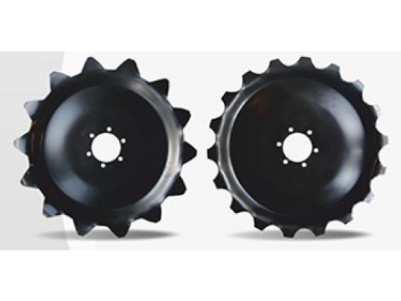 Disco tapador con rueda estampada Suragro
