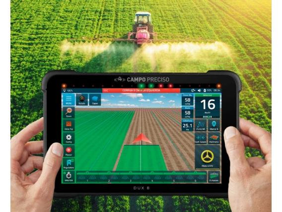 Display Agricultura De Precisión Dux 8