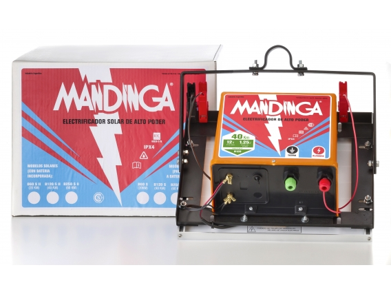 Electrificador-Boyero Mandinga® Solar 40Km - 1,25j